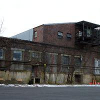 Decrepit, old commercial building.