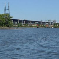 Photo of bridge over Passaic River.