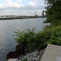 Photo taken from riverbank.