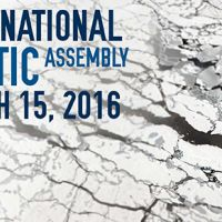 Promotional cover for the International Arctic Assembly